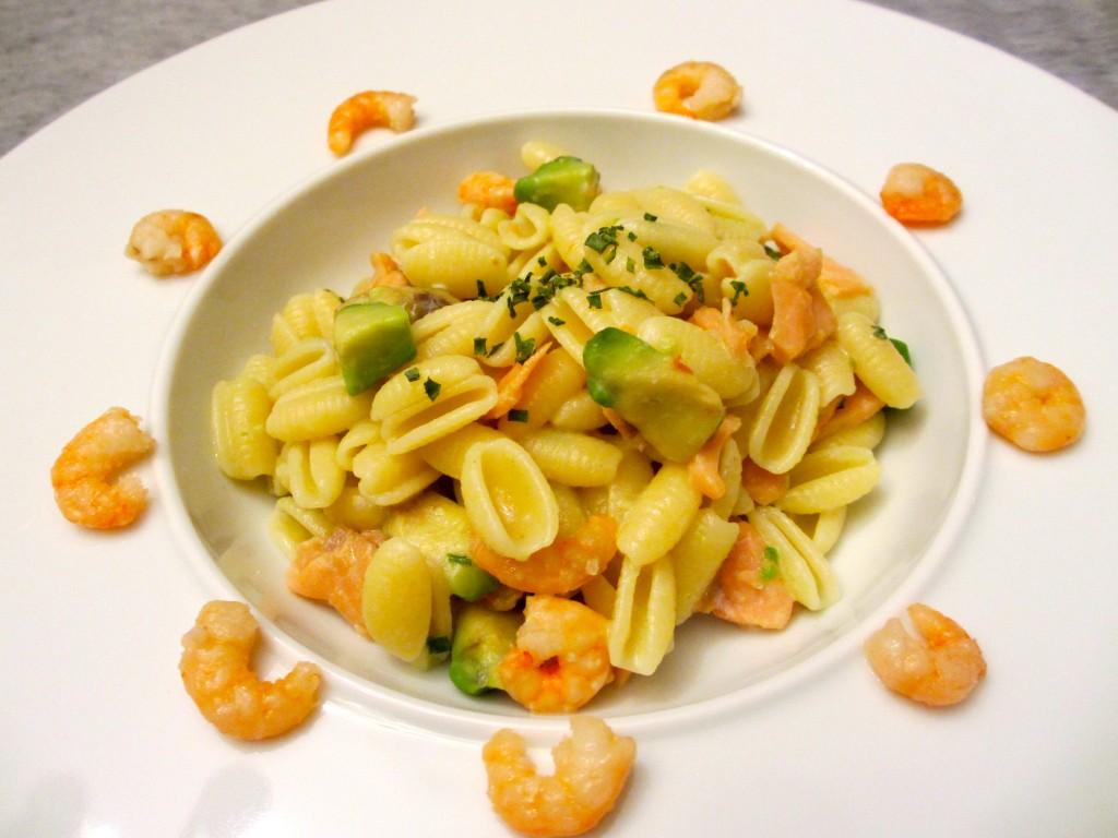 p tes au saumon crevettes et l avocat diet d lices recettes diet tiques. Black Bedroom Furniture Sets. Home Design Ideas