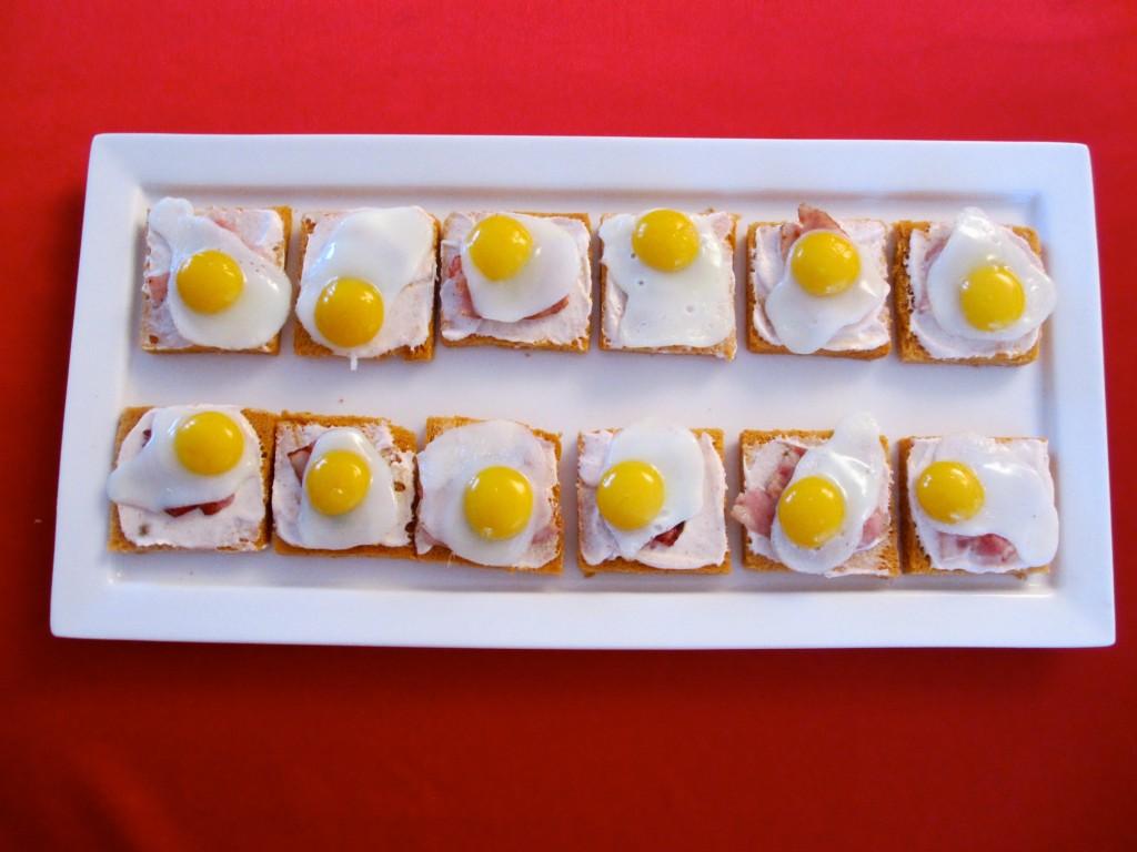 Bien-aimé Toast oeuf de caille et lard grillé : Diet & Délices - Recettes  OH91