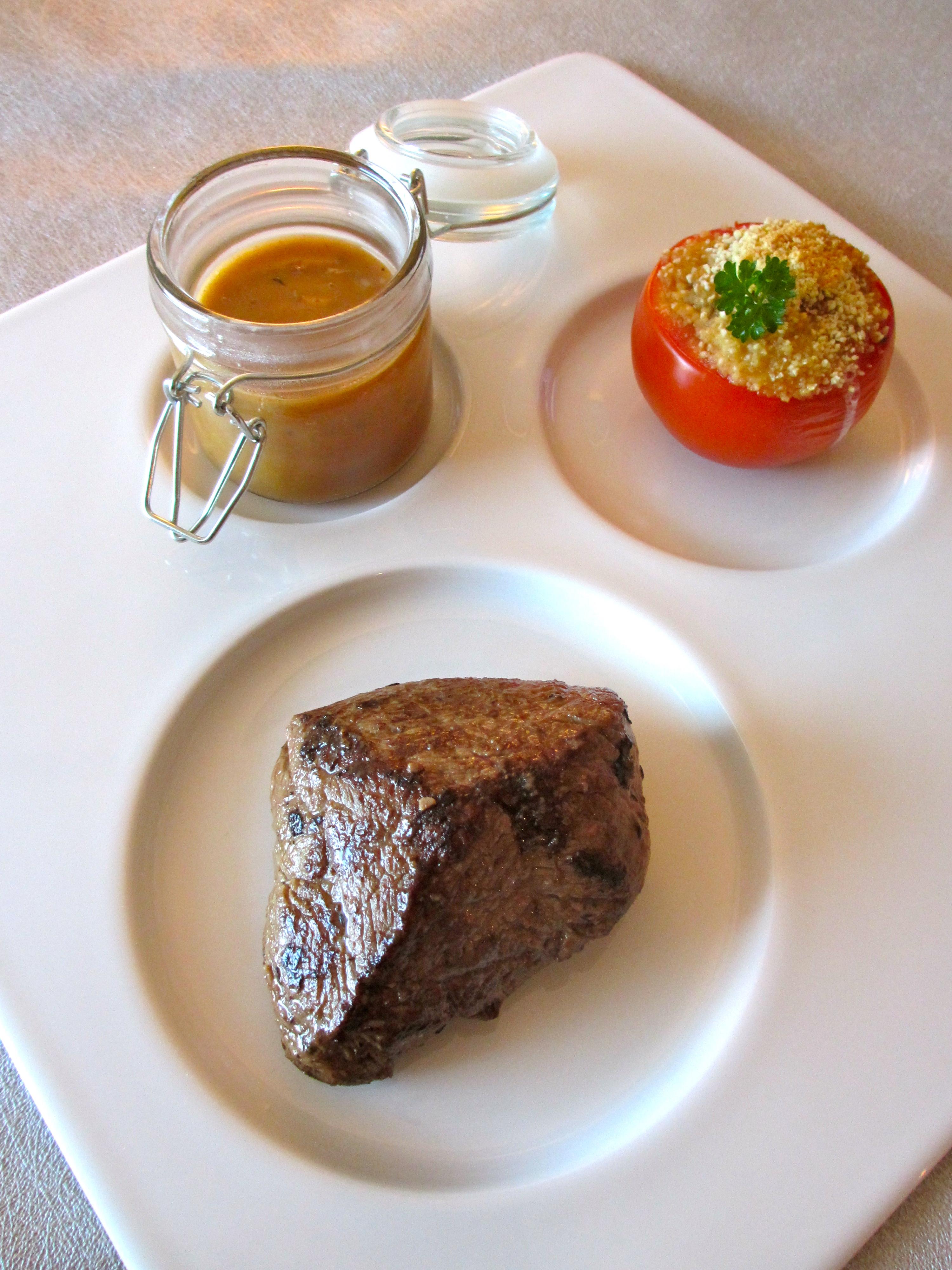 pav de boeuf l chalote et sa sauce l chalote diet d lices recettes diet tiques. Black Bedroom Furniture Sets. Home Design Ideas