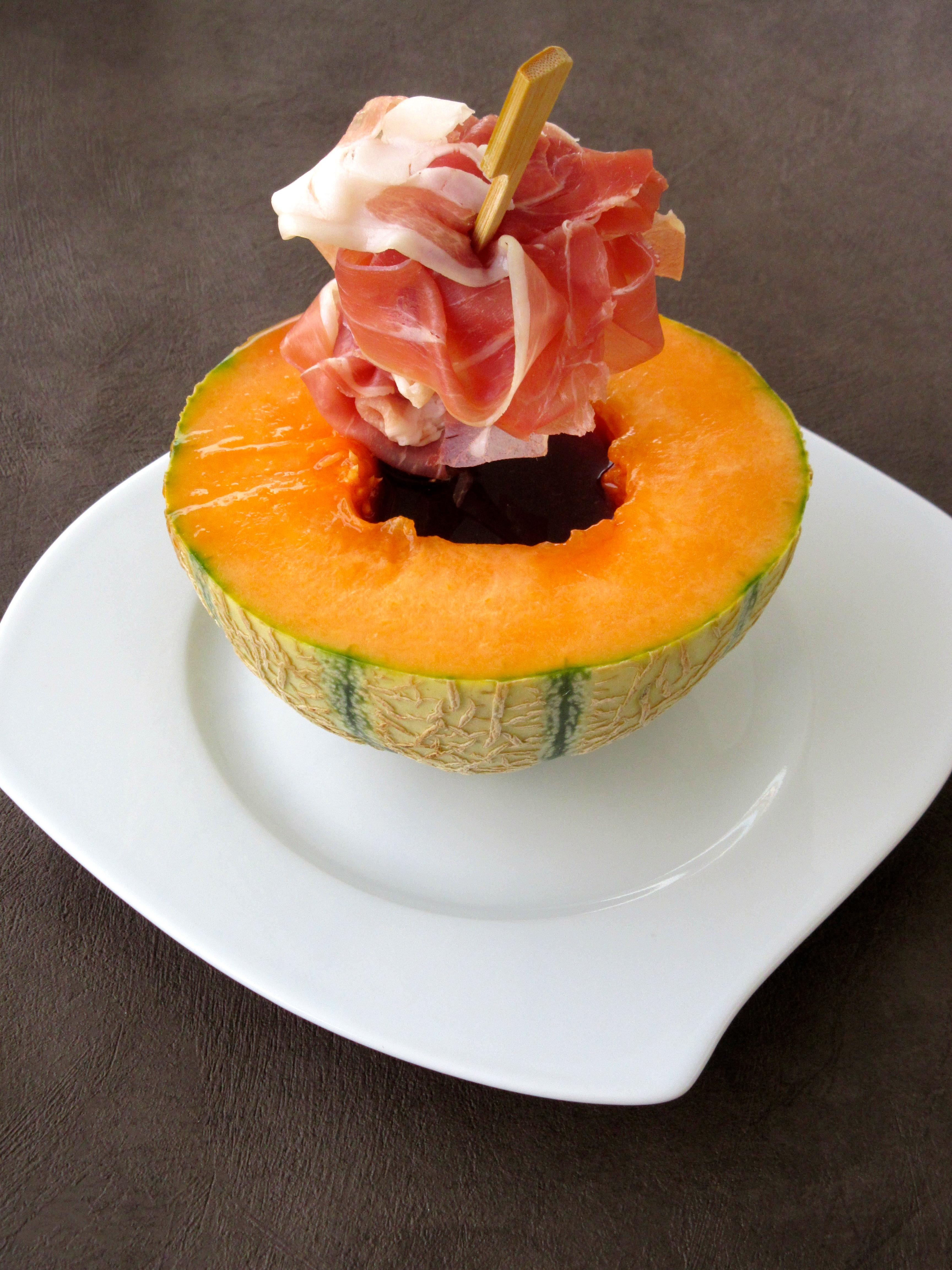 Melon au porto partager diet d lices recettes for Entree froide original