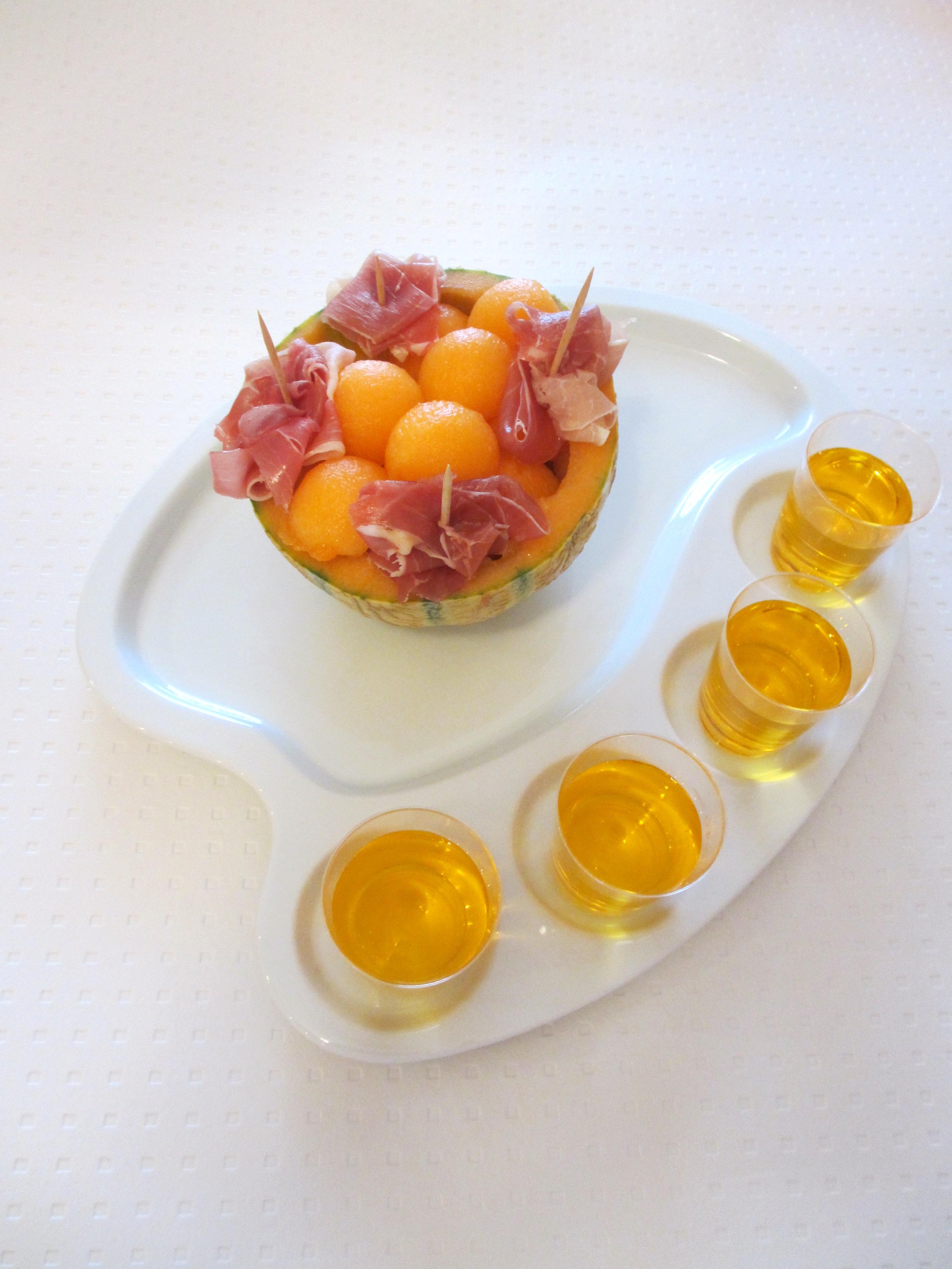 Melonade au jambon fum diet d lices recettes for Entree estivale