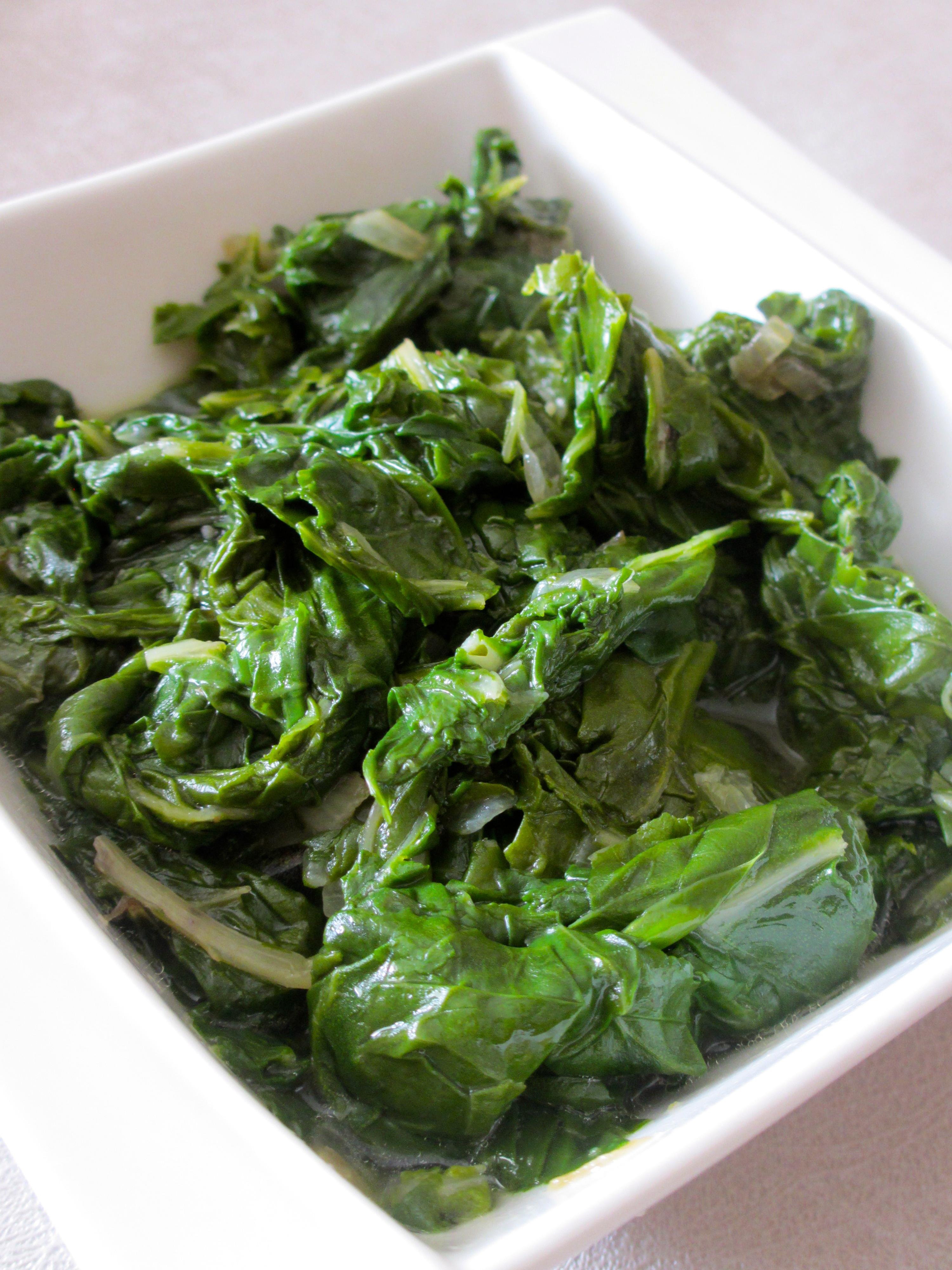 Fondue de feuilles de blettes diet d lices recettes - Comment cuisiner des feuilles de blettes ...