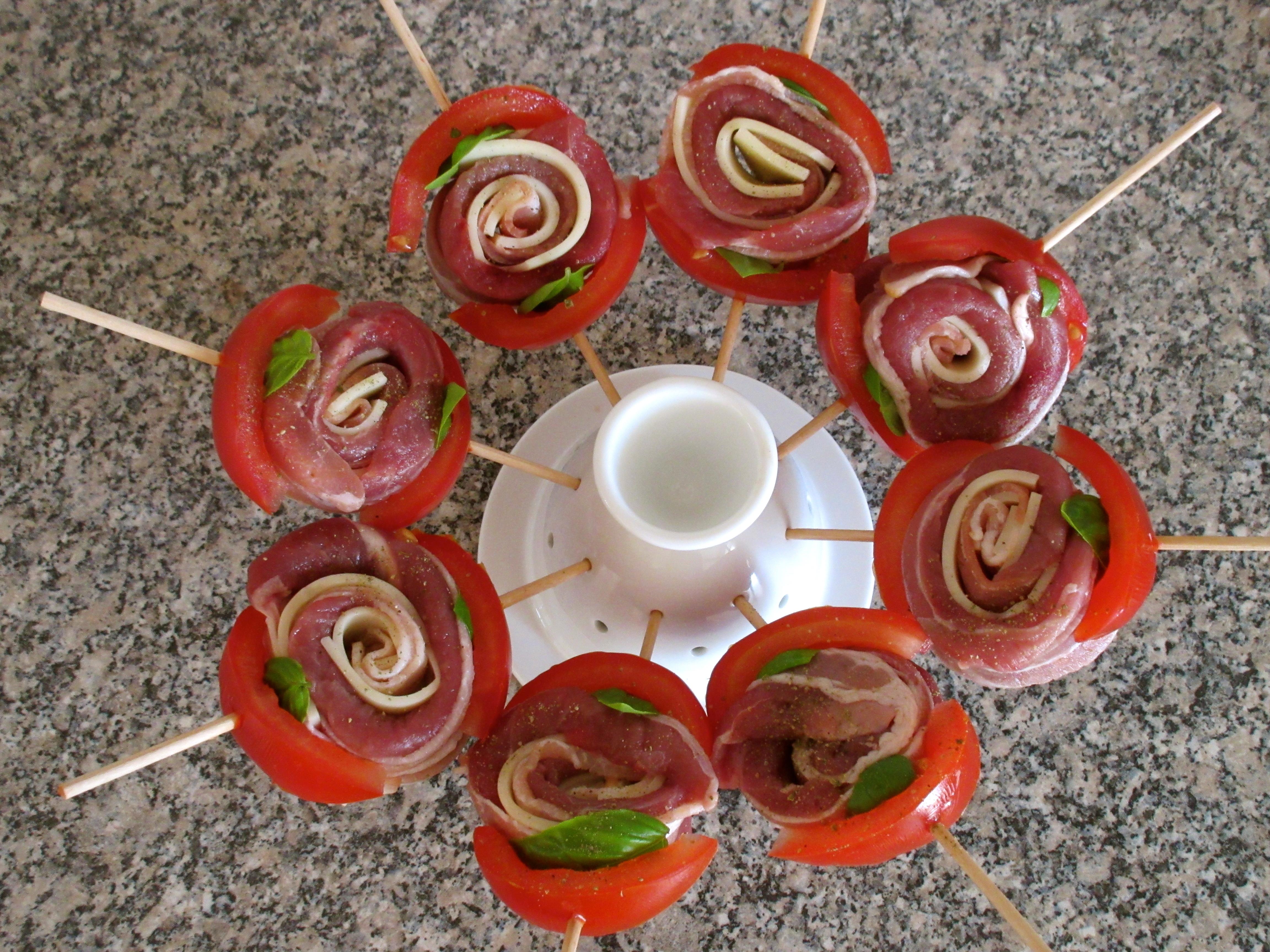 Aiguillettes de canard roul es au lard et l emmental diet d lices recettes diet tiques - Cuisiner les aiguillettes de canard ...