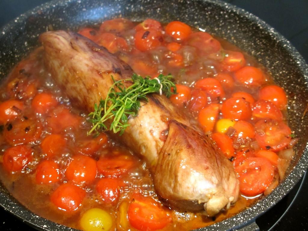 Filet Mignon De Porc Au Miel Vin Rouge Et Tomates Cerises Diet