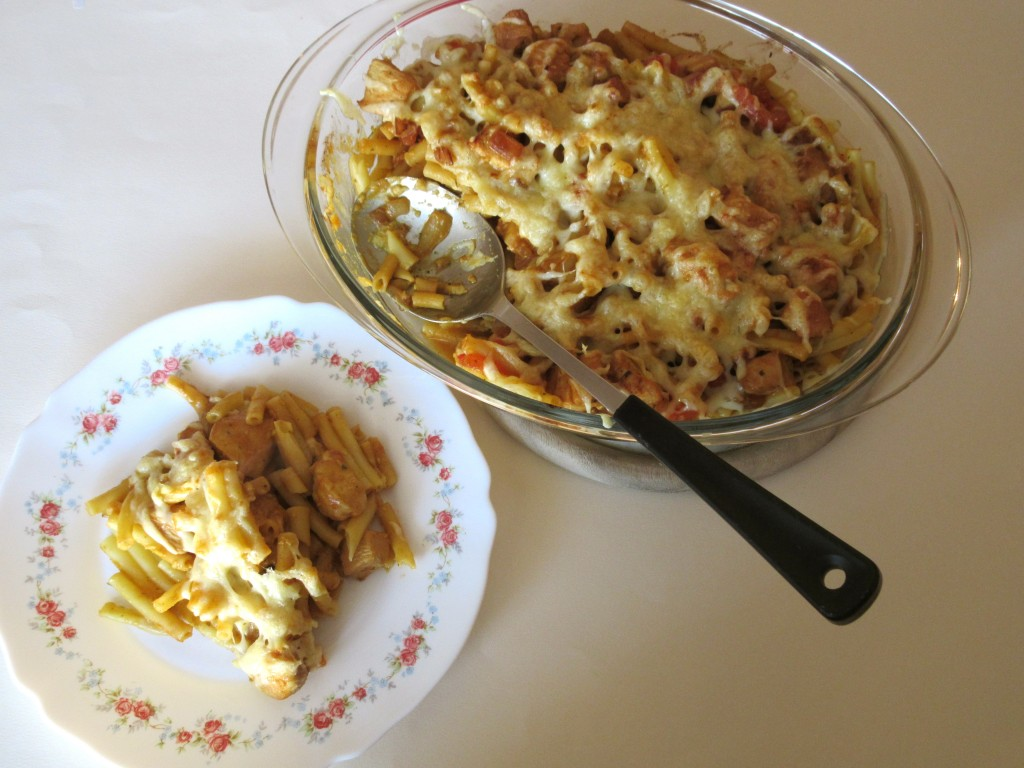 Gratin de p tes poulet et sauce korma diet d lices recettes diet tiques - Gratin de pates poulet ...