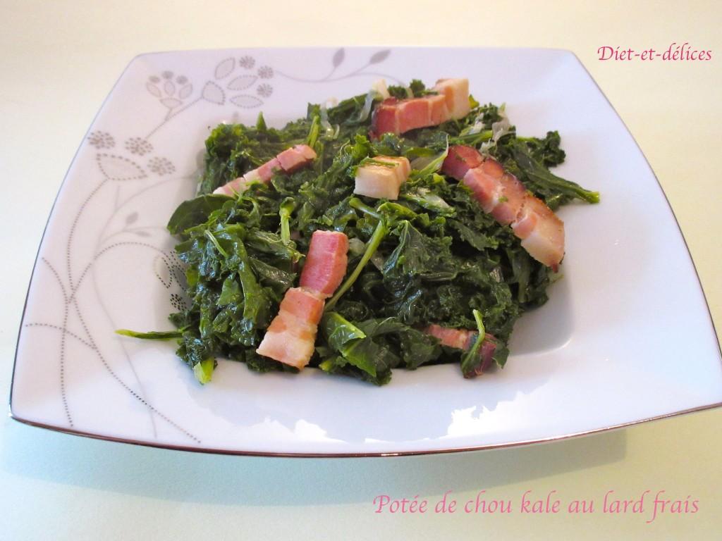 Potée de chou kale au lard frais