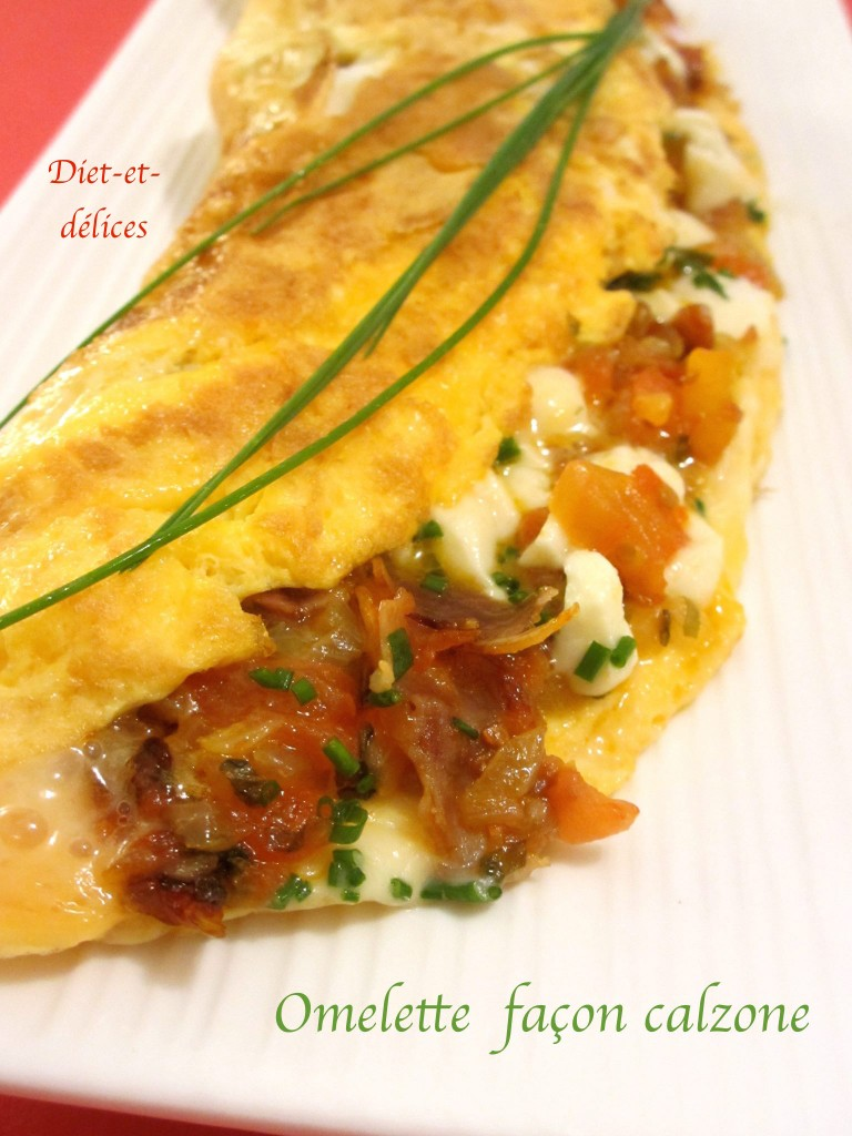 Omelette façon calzone
