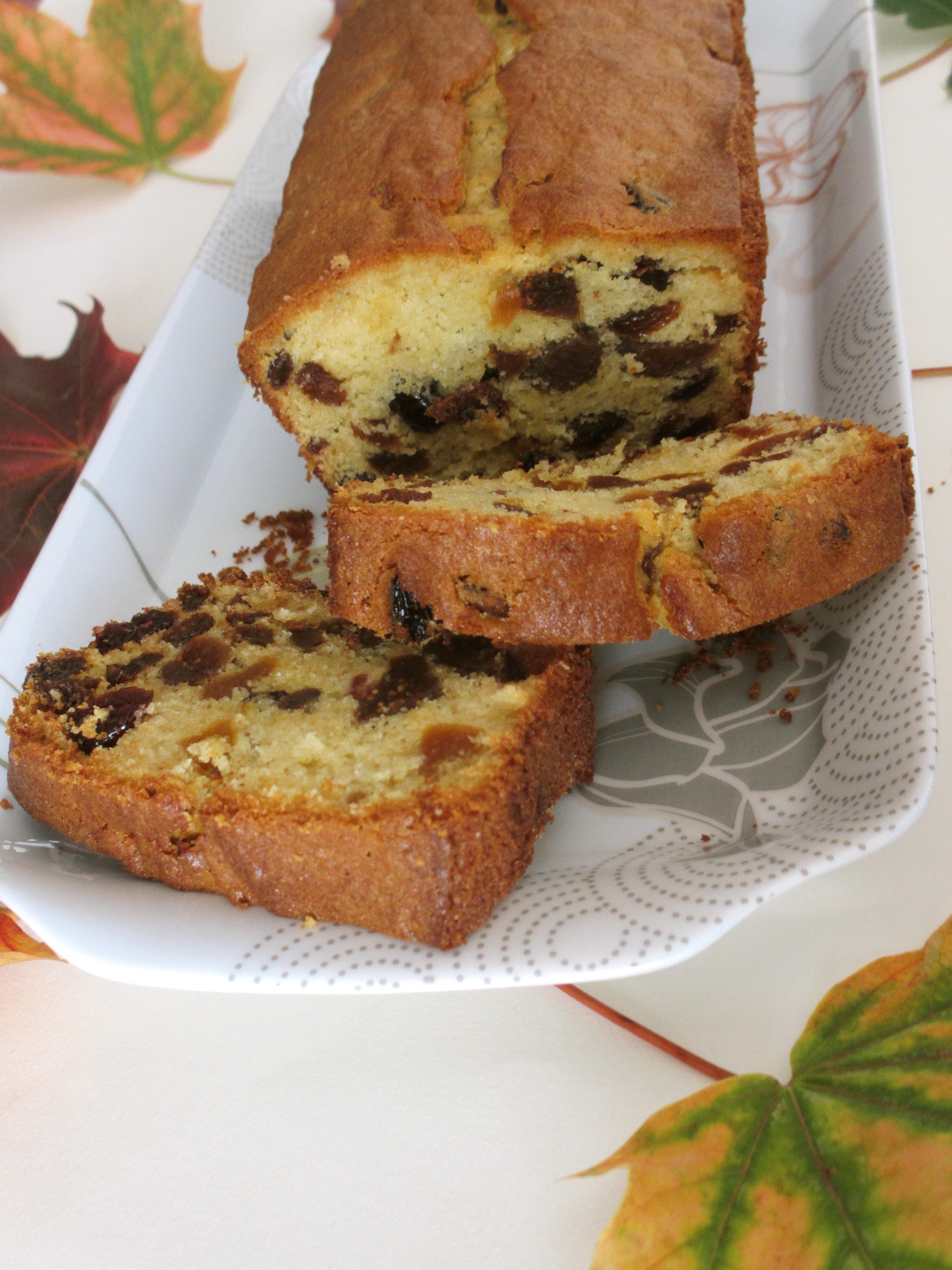 Cake d'automne aux fruits secs