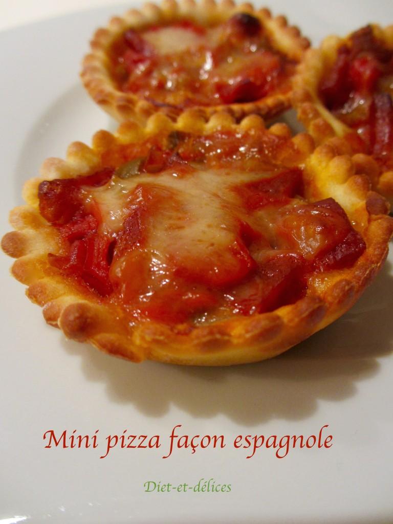 Mini pizza façon espagnole