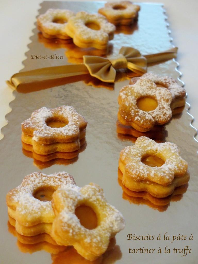 Biscuits à la pâte à tartiner à la truffe