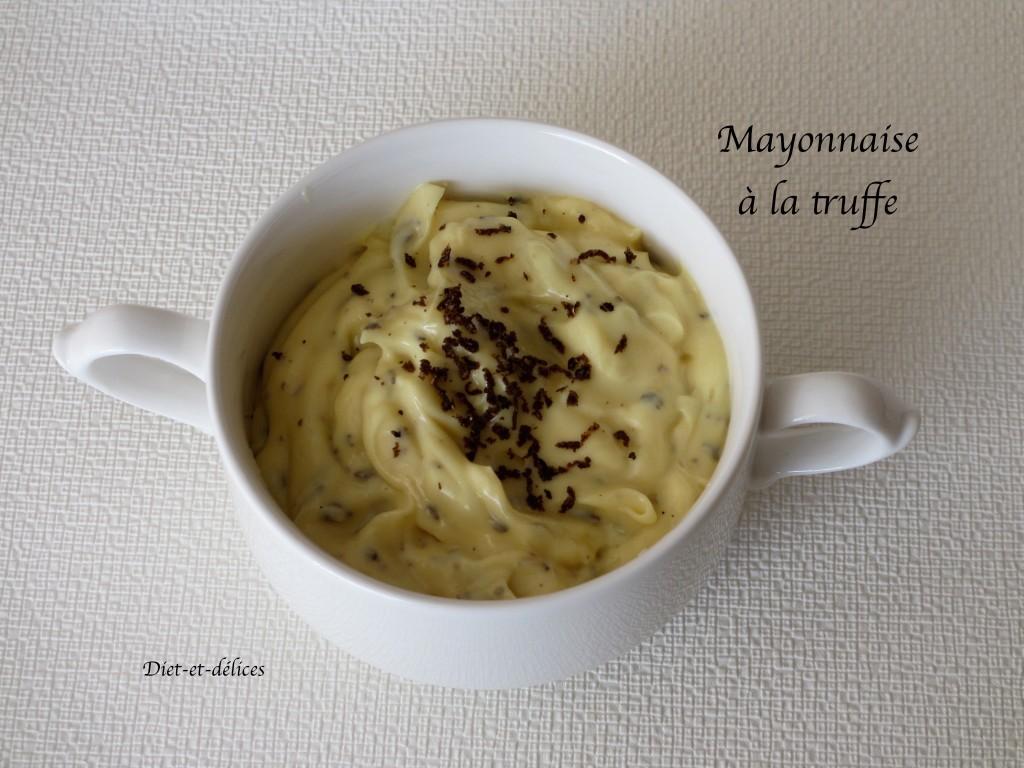 Mayonnaise à la truffe