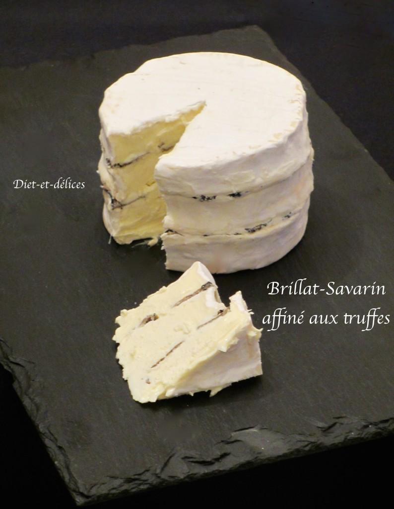 Brillat-Savarin affiné aux truffes