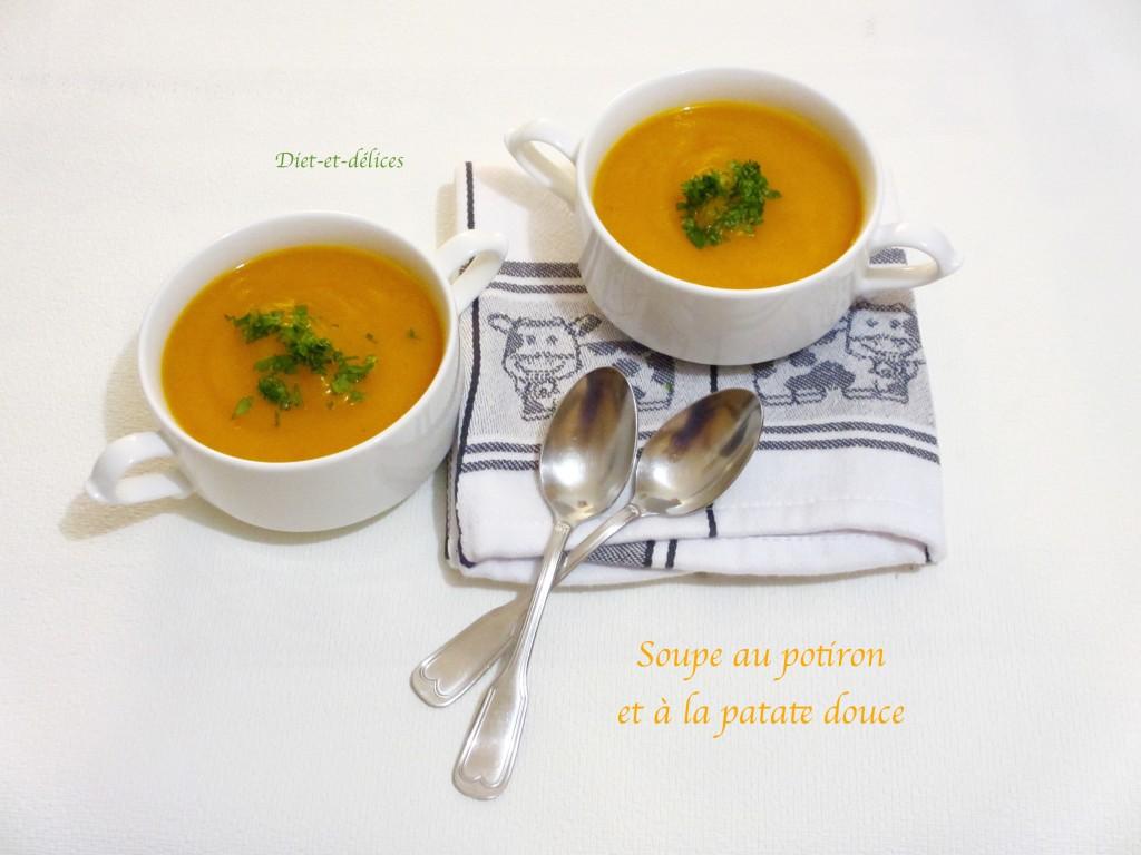 Soupe au potiron et à la patate douce