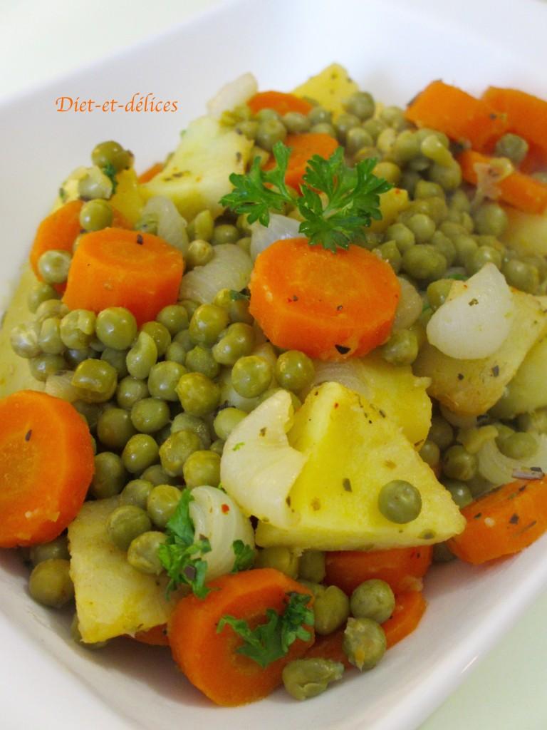 Poêlée de légumes et pommes de terre