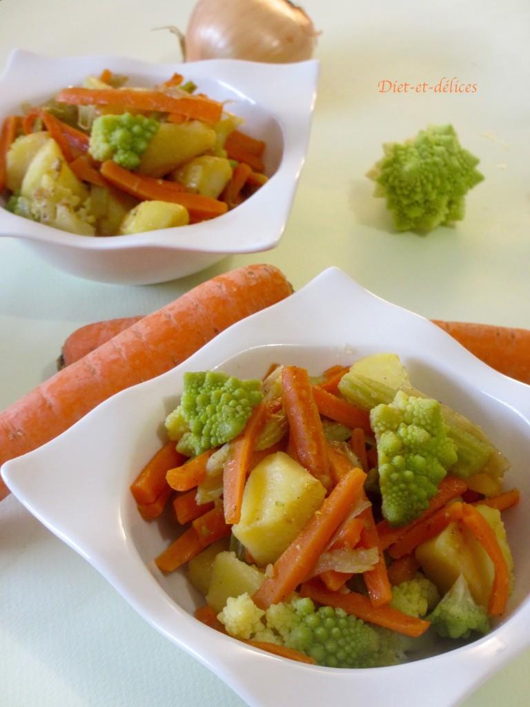 Poêlée végétarienne complète