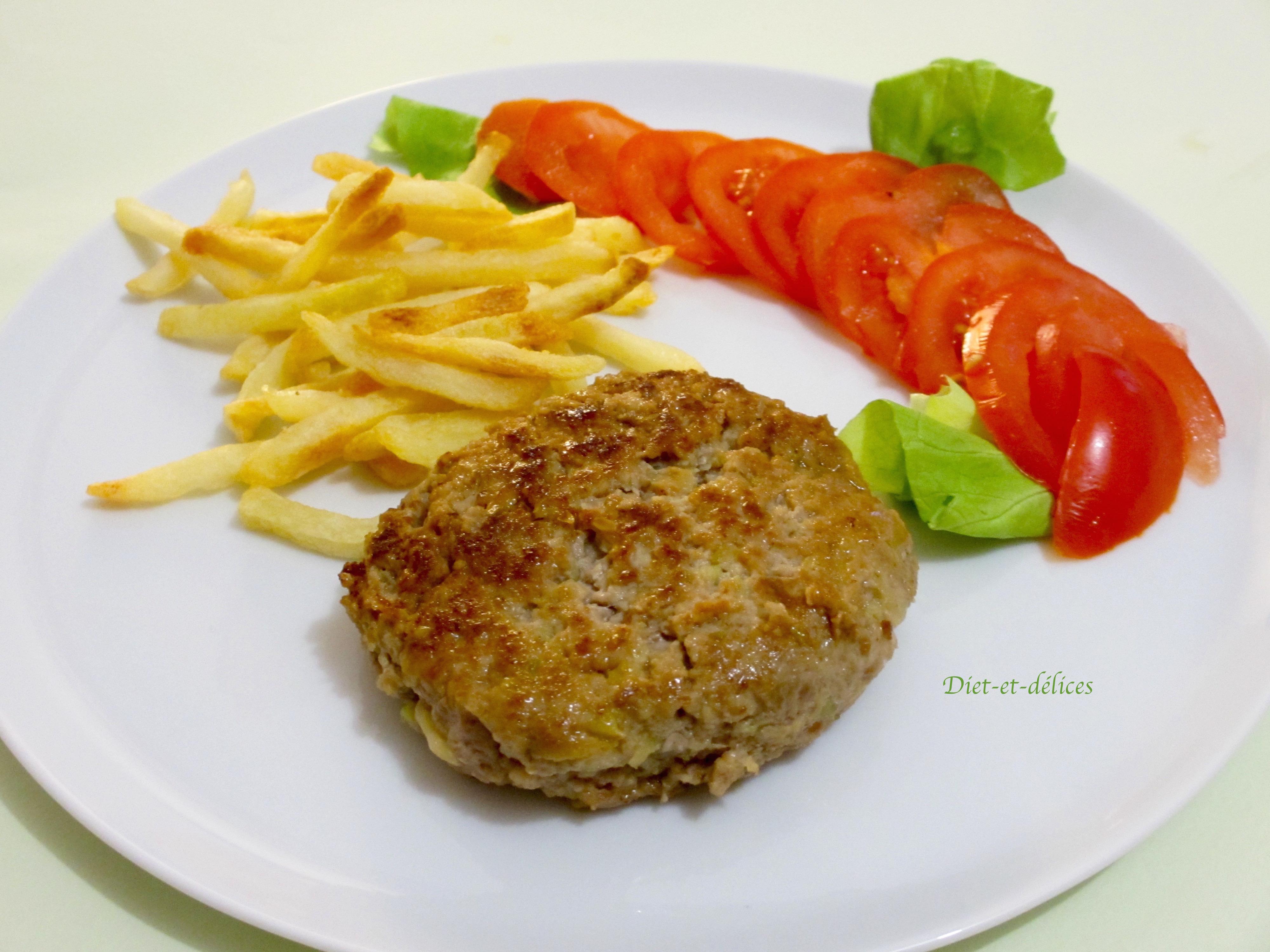Steak hach de veau la courgette diet d lices recettes diet tiques - Consomme de boeuf maison ...
