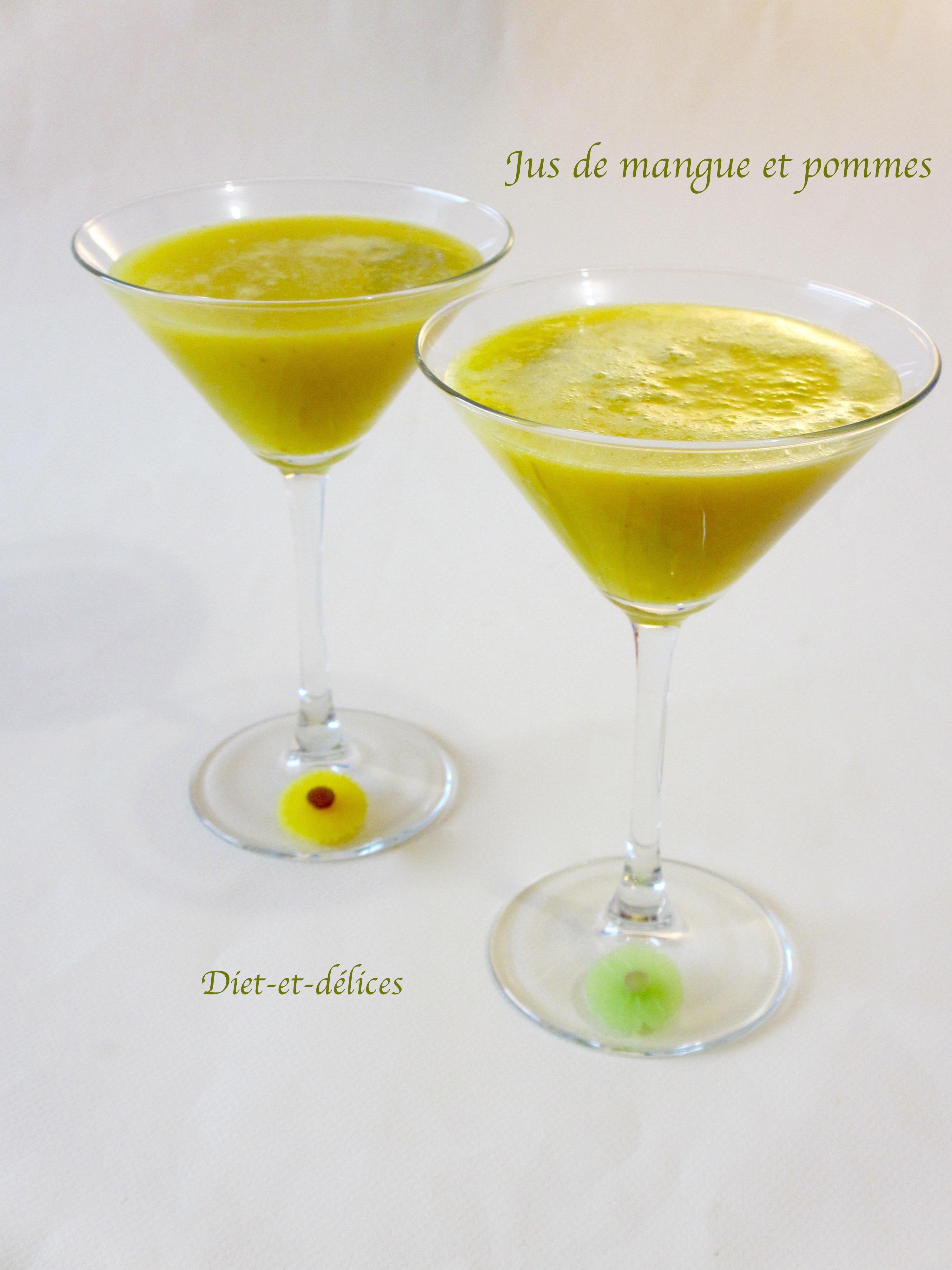 jus de mangue et pommes diet d lices recettes diet tiques. Black Bedroom Furniture Sets. Home Design Ideas
