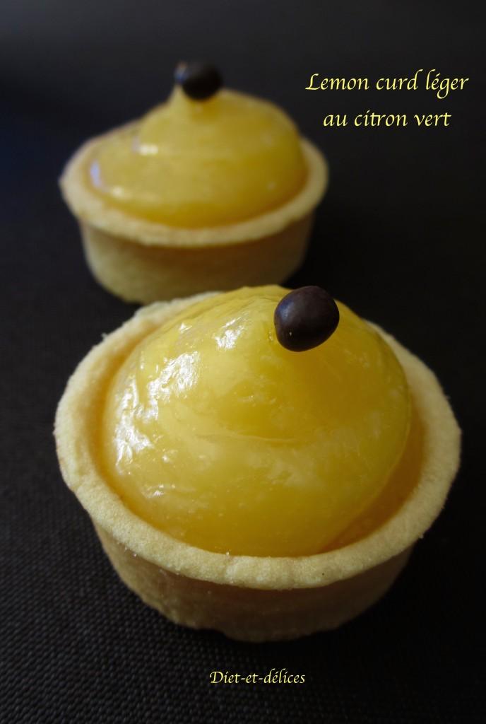 Lemon curd léger au citron vert (sans beurre)