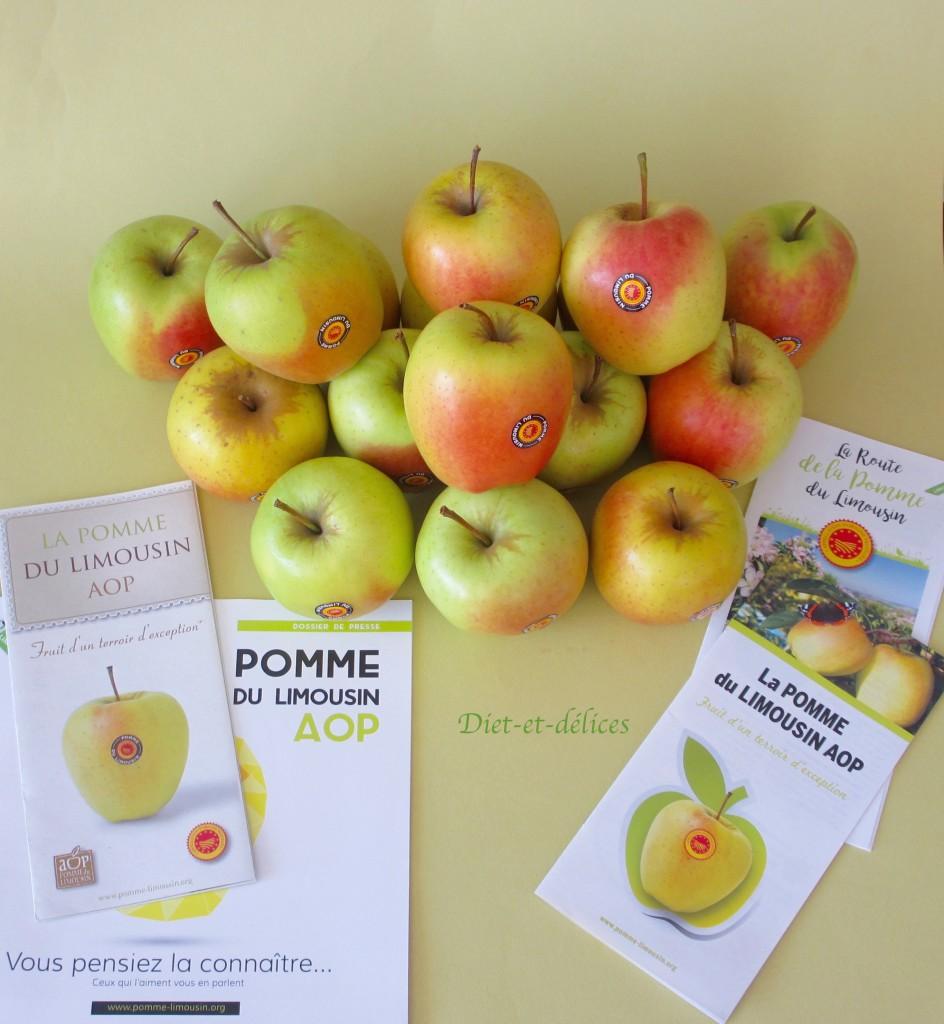 Pommes du Limousin AOP