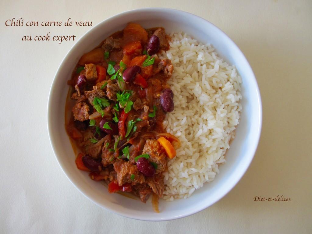 Chili con carne de veau au cook expert