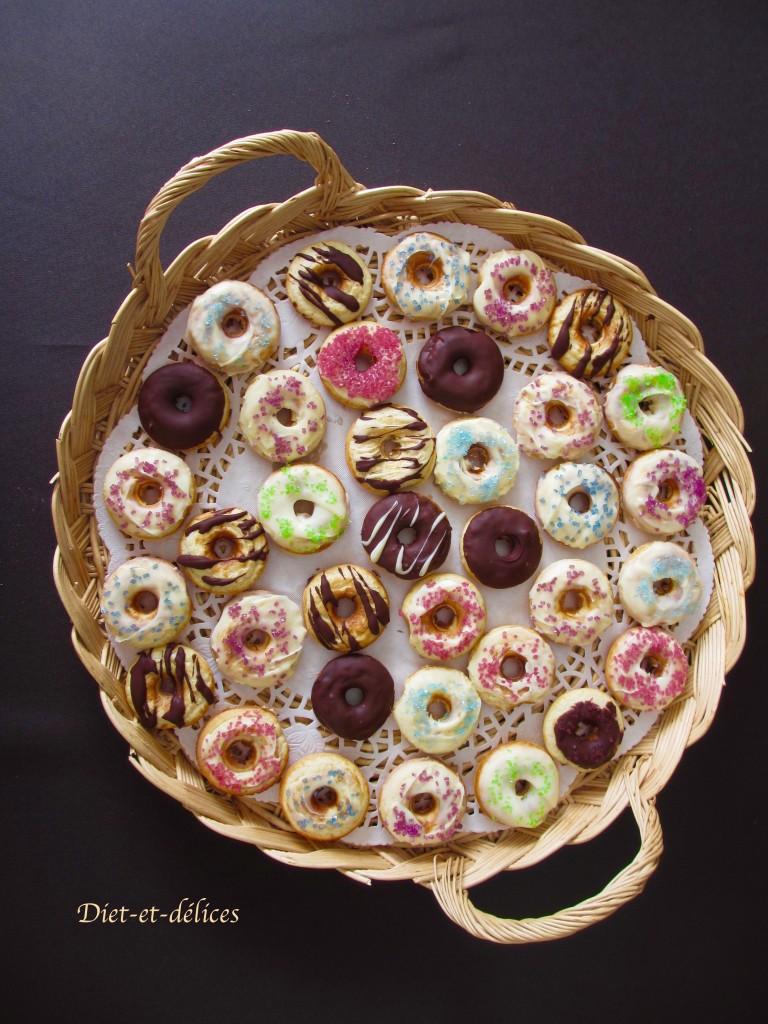 Donuts en arc-en-ciel
