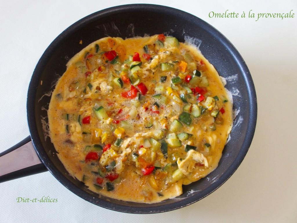 Omelette à la provençale