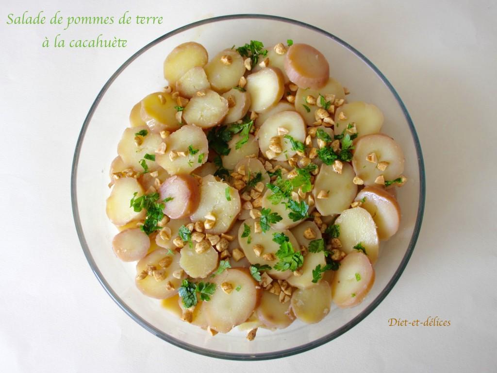 Salade de pommes de terre à la cacahuète