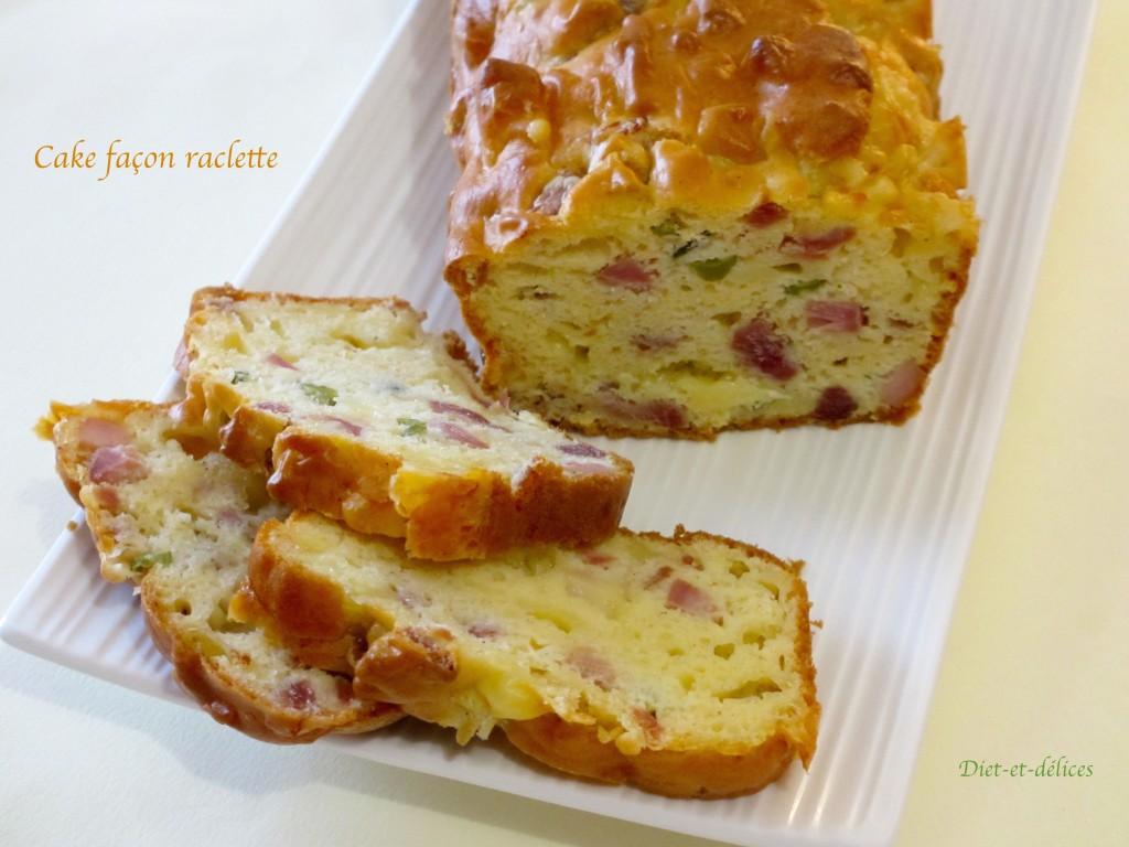 Cake façon raclette