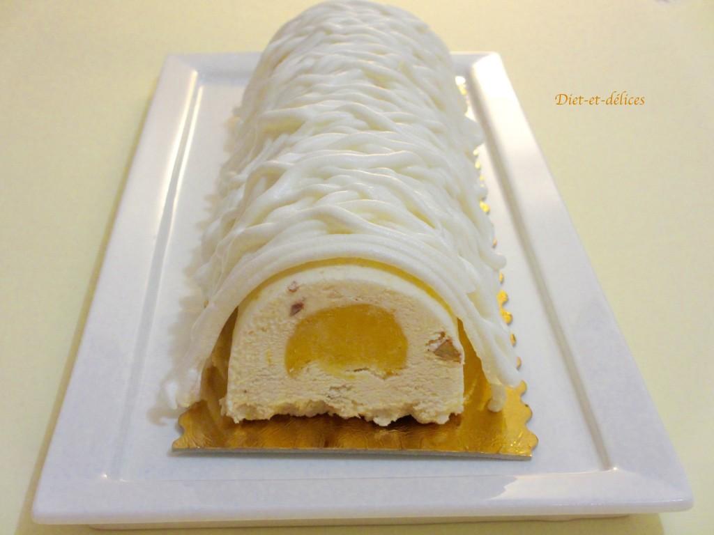 B che glac e au nougat et au citron diet d lices recettes diet tiques - Nougat silvain freres ...