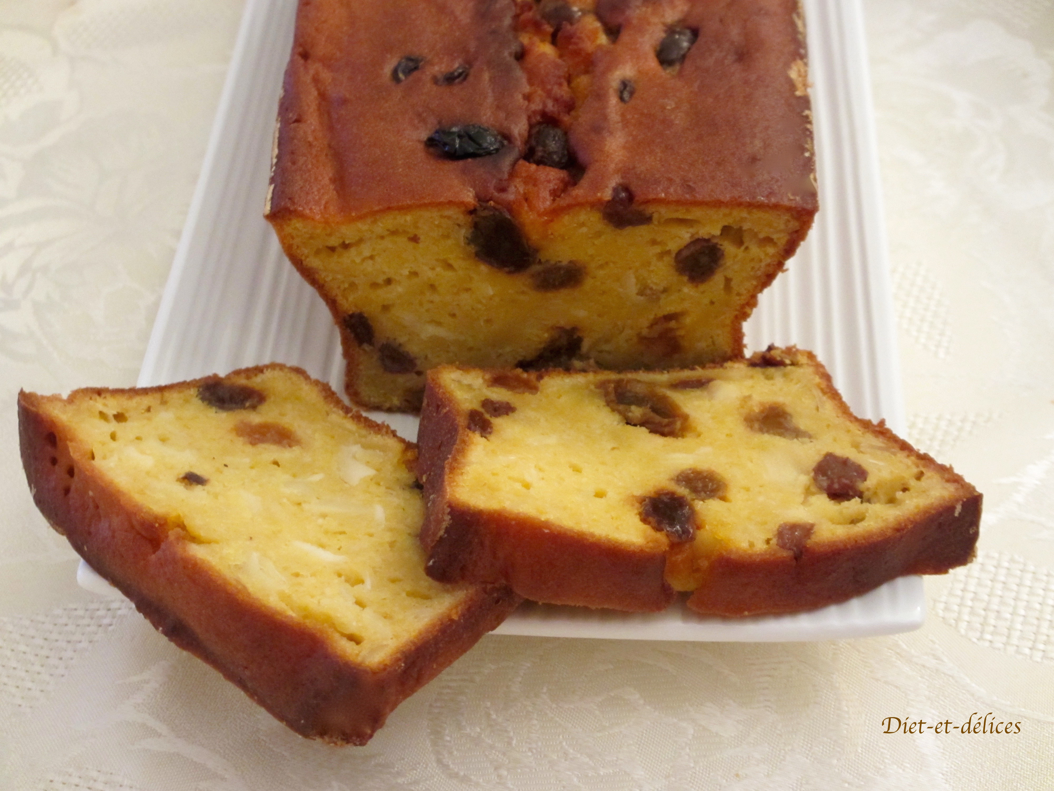 Cake sucr au potiron diet d lices recettes diet tiques - Cake au potiron sucre ...