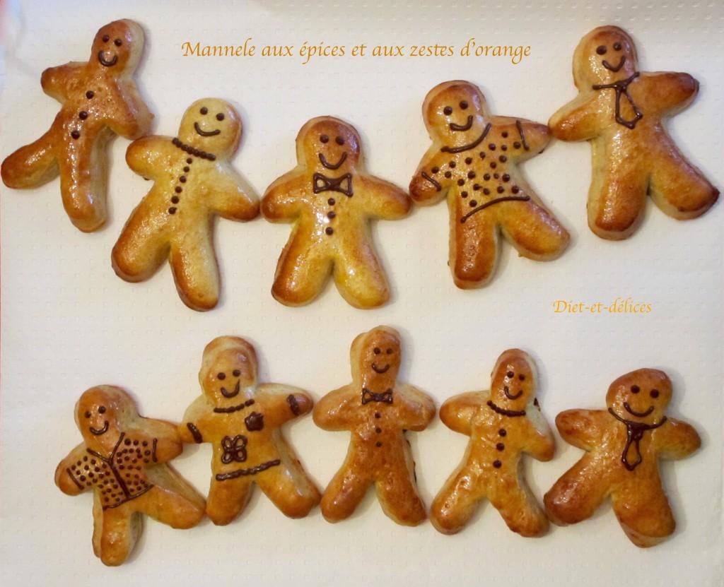 Mannele aux épices et aux zestes d'orange