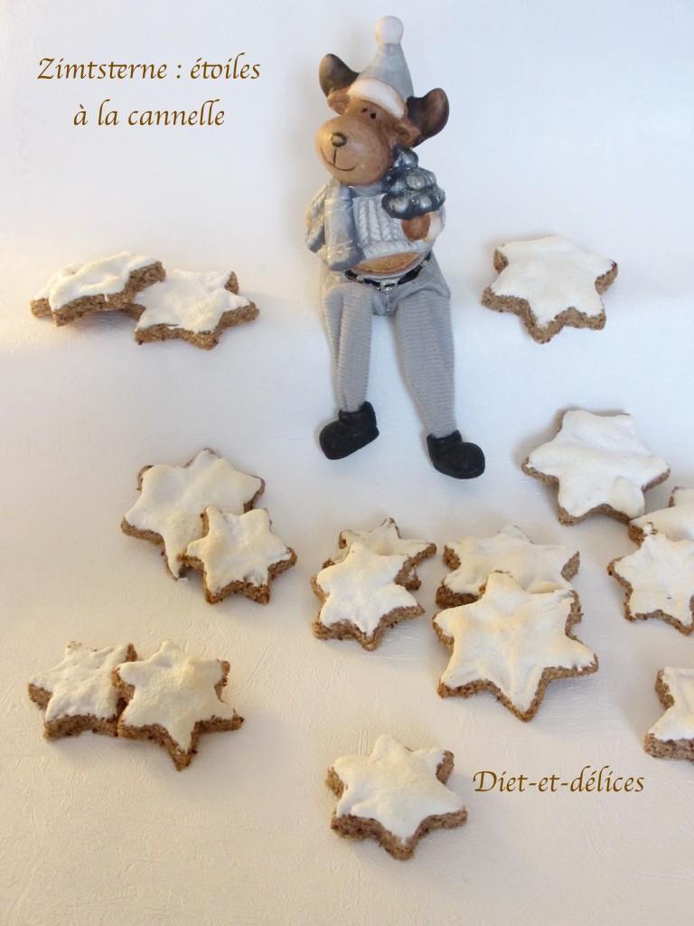 Zimtsterne : étoiles à la cannelle