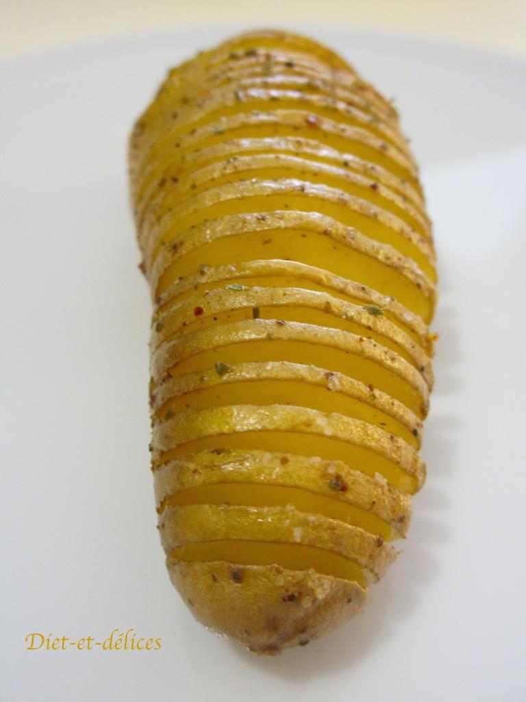 Hasselback potatoes : pommes de terre au four à la suédoise