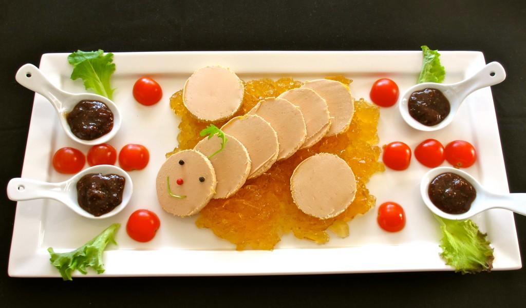 plat de pr sentation du foie gras diet d lices recettes diet tiques. Black Bedroom Furniture Sets. Home Design Ideas