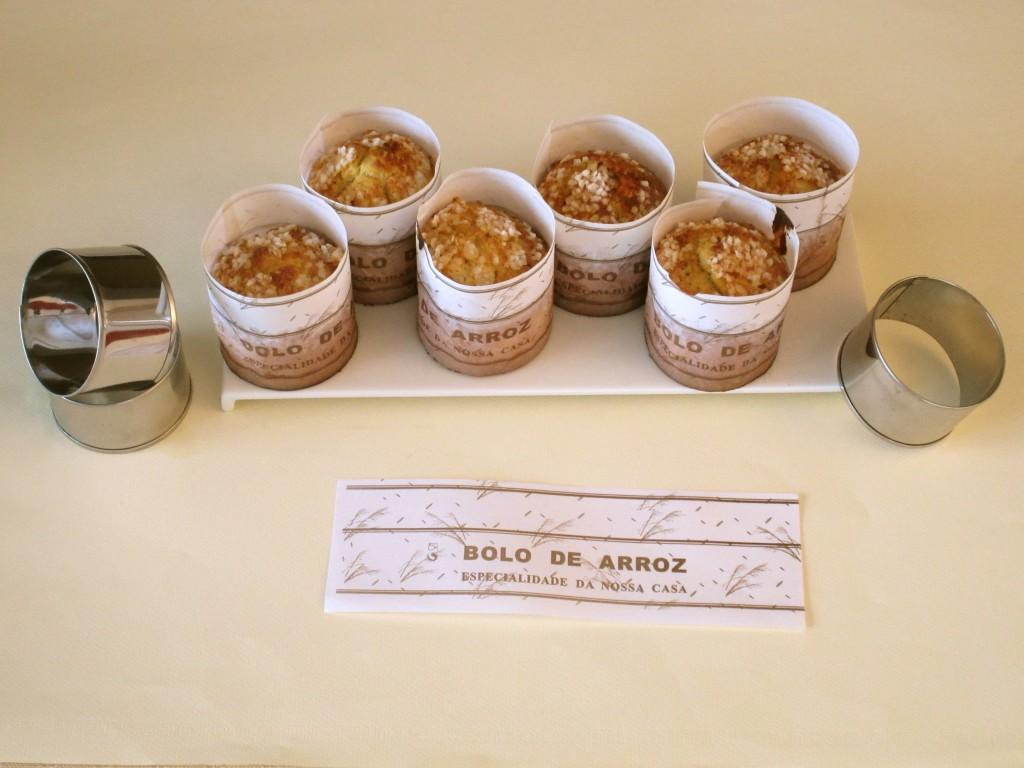 Muffins portugais (bolo de arroz) à l\u0027ananas confit